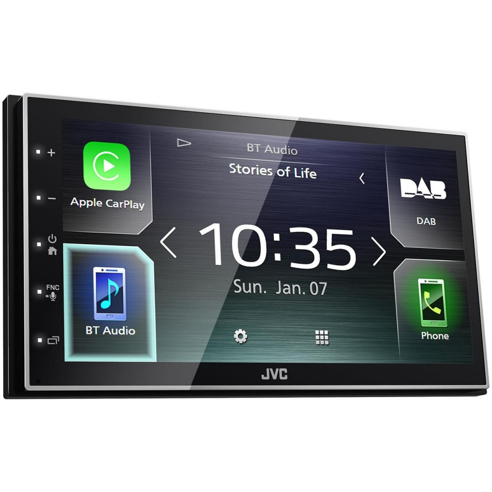 JVC JVC Mechless Media Station with DAB (KWM745DBT) - Car Audio Centre
