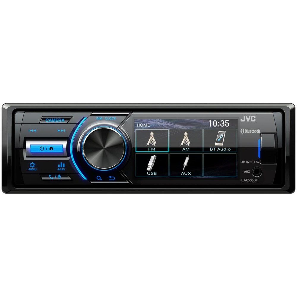 JVC JVC TFT Mechless Media Unit (KDX560BT) - Car Audio Centre