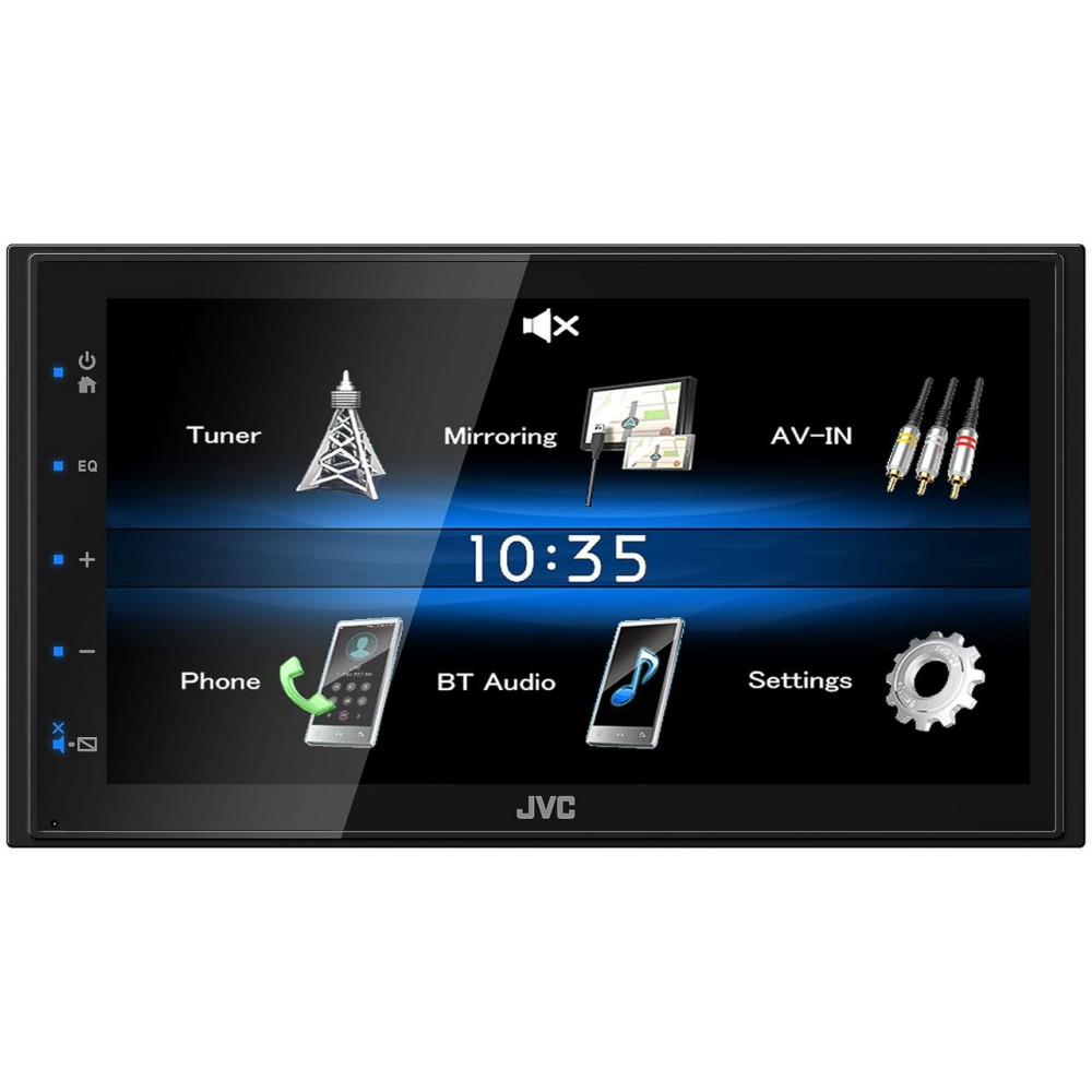 JVC JVC Mechless Multimedia Player (KW-M25BT) - Car Audio Centre