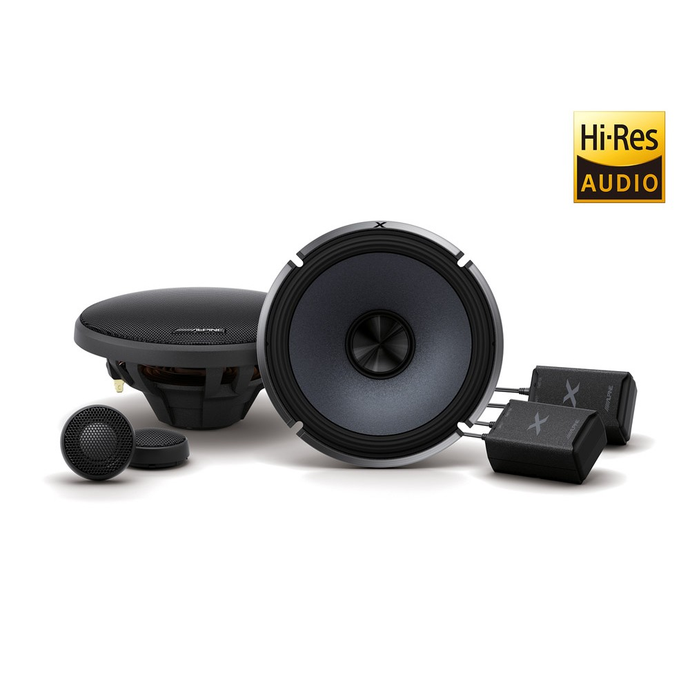 Alpine Alpine Component Speakers (XS65C) - Car Audio Centre