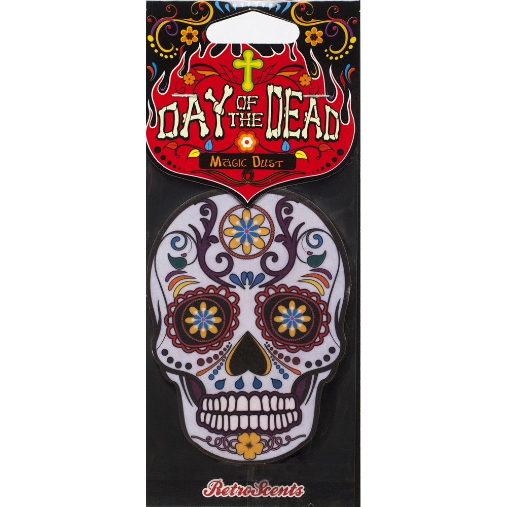 Day Of The Dead Day of the Dead Magic Dust White Skull (DD2D1) - Car Audio Centre