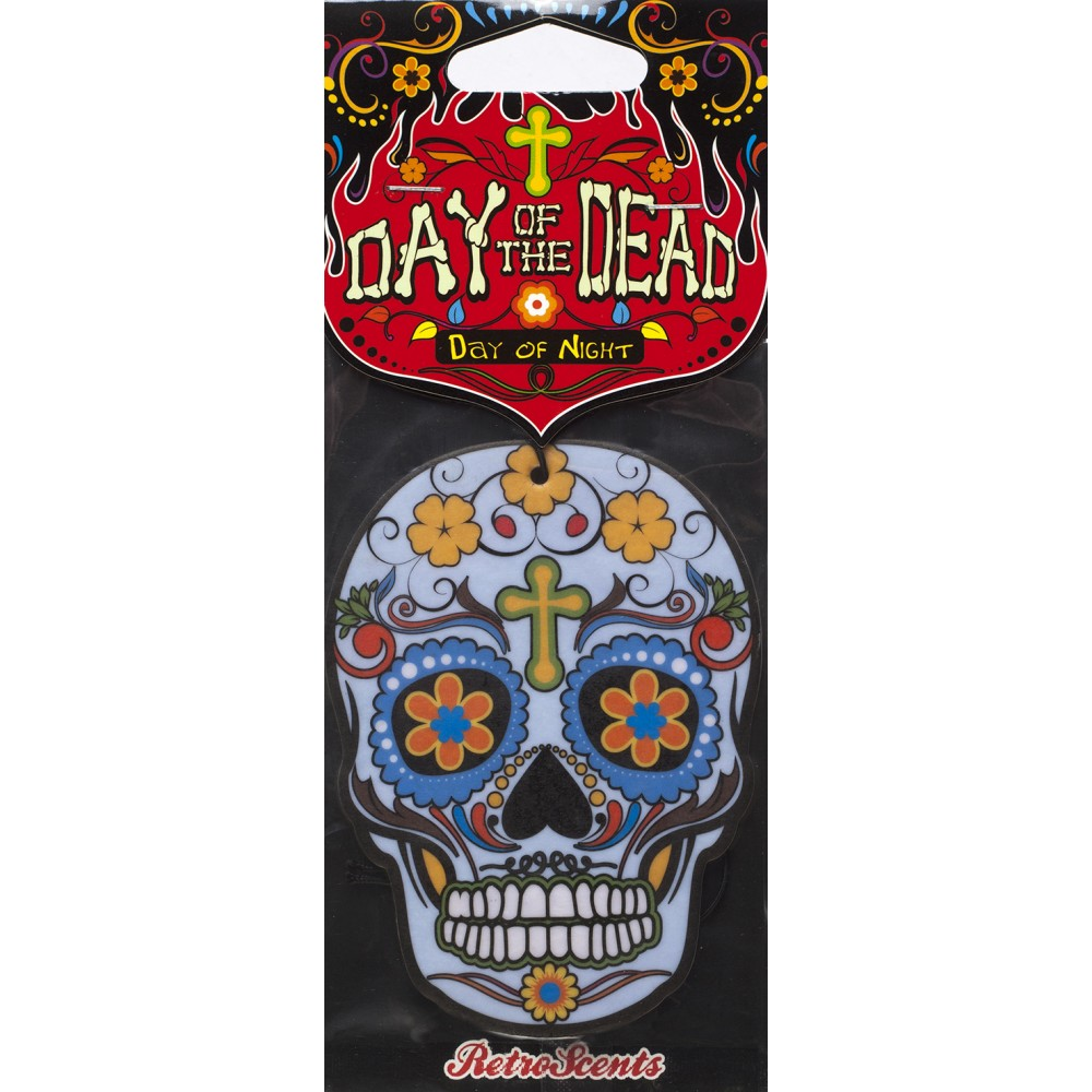 Day Of The Dead Day of the Dead Day of Night Blue Skull (DD2D4) - Car Audio Centre