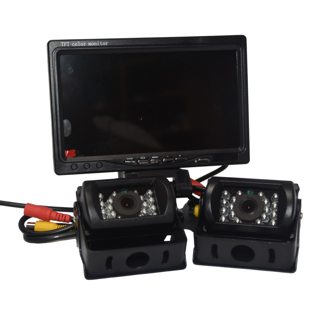 In Phase In Phase Dual Camera Reversing Kit (DINY612W) - Car Audio Centre