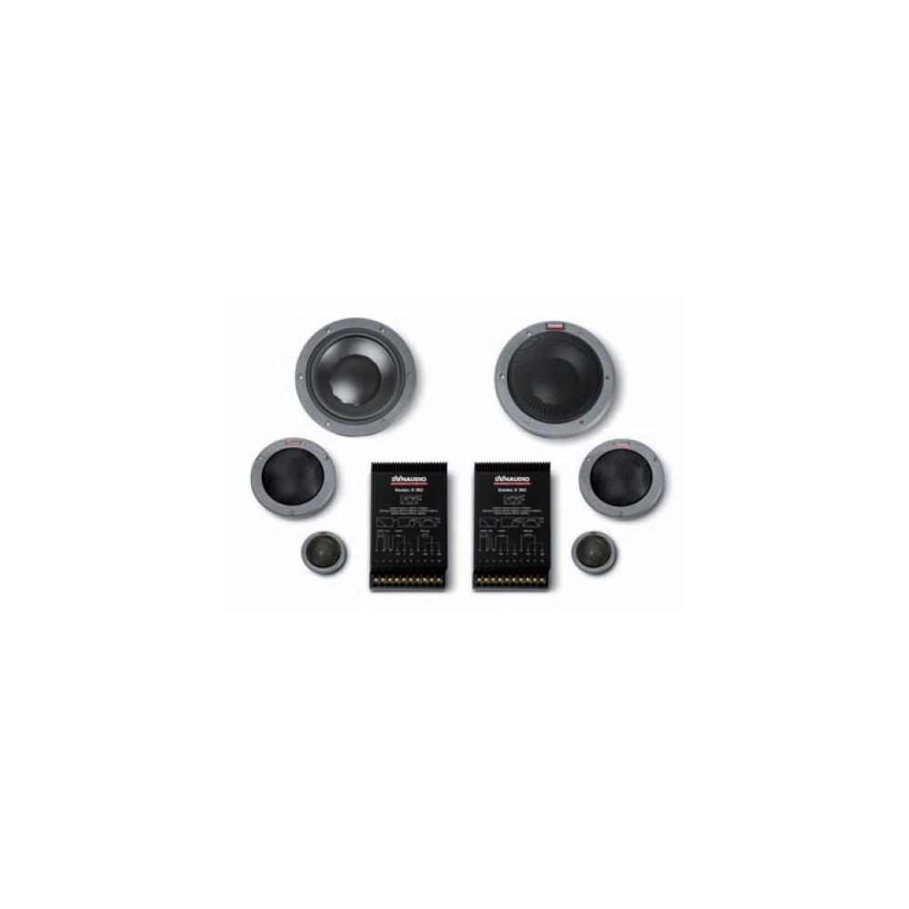 "Dynaudio Dynaudio 7"" 3-Way Component Set (System342) - Car Audio Centre"