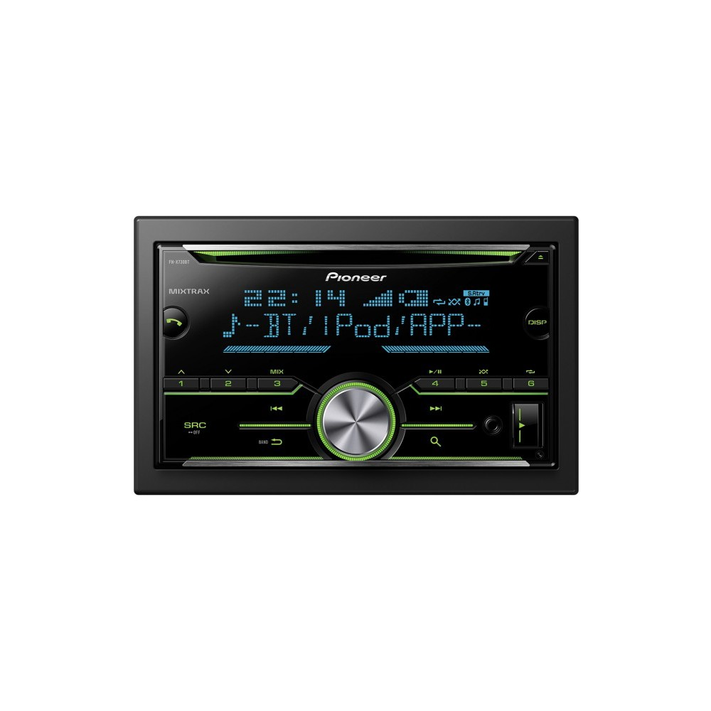 ipitrade pioneer fhx730bt bluetooth double din. Black Bedroom Furniture Sets. Home Design Ideas