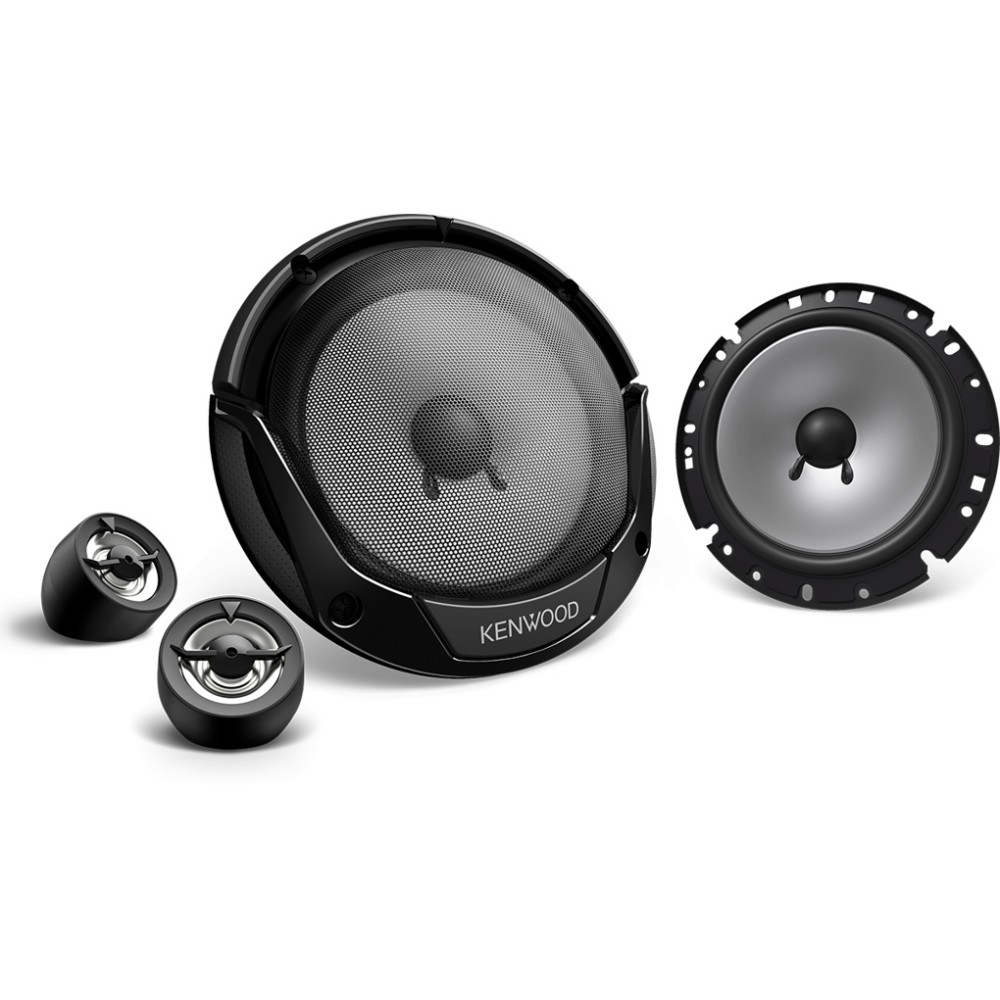 Kenwood Kenwood 17cm 300W Component Speakers (KFCE170P) - Car Audio Centre