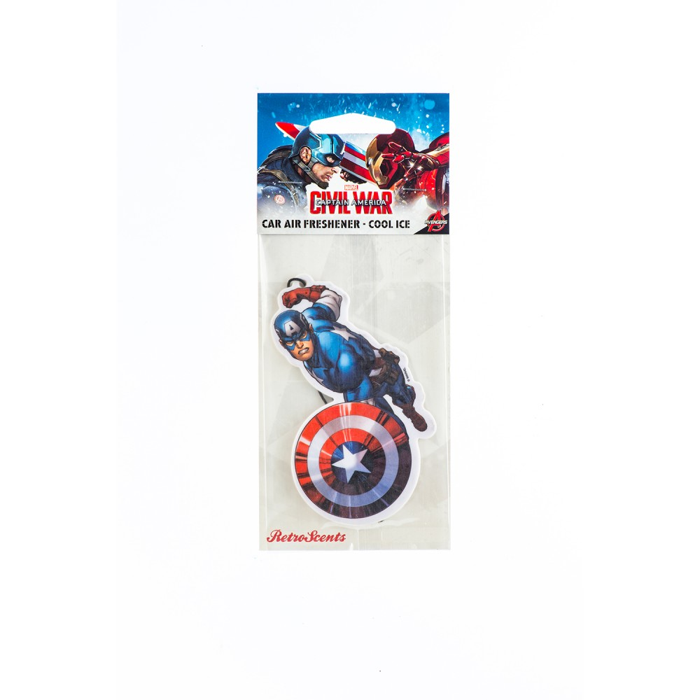 Marvel Marvel Captain America (MV2D1) - Car Audio Centre