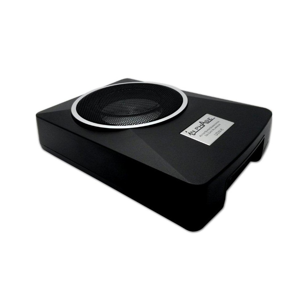 In Phase In Phase 300W Underseat Sub (USW8) - Car Audio Centre