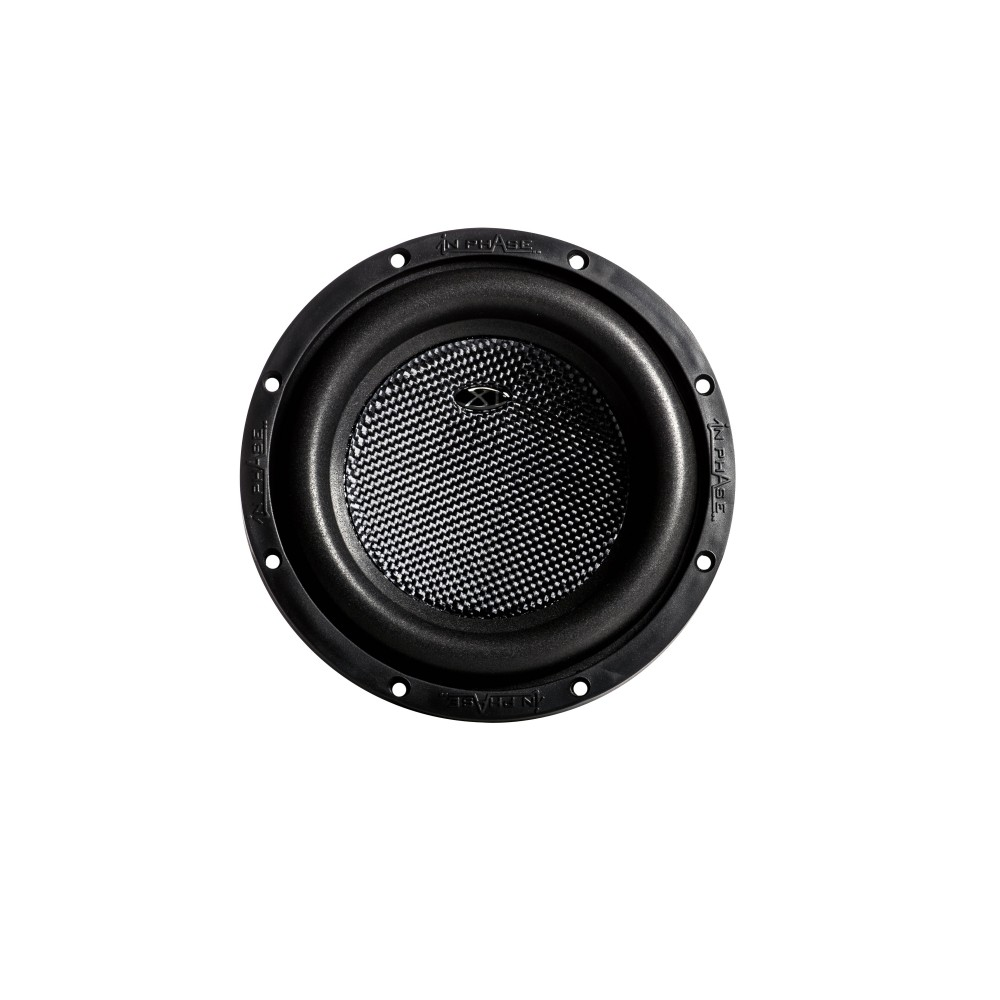 "In Phase Inphase 8"" 1000W Single 4Ω Sub (XT-8) - Car Audio Centre"