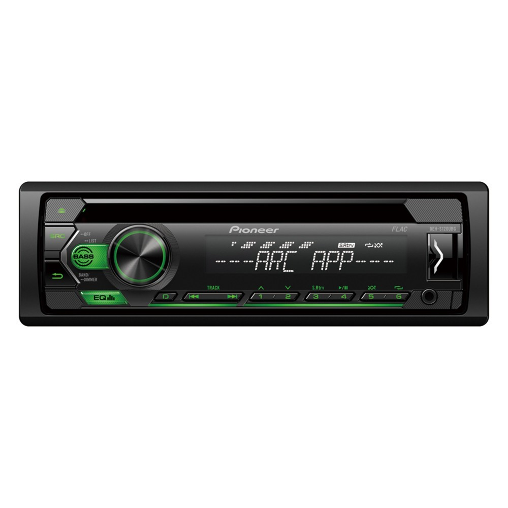 Pioneer Pioneer CD Tuner with USB (DEH-S120UBG) - Car Audio Centre
