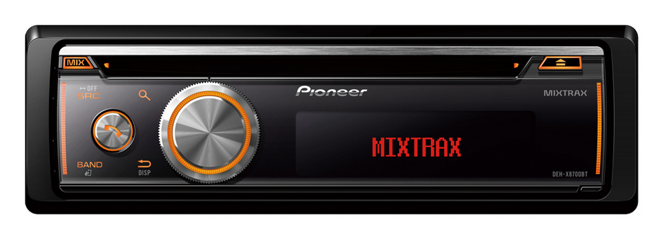 Pioneer Pioneer CD/Bluetooth Stereo (DEHX8700BT) - Car Audio Centre