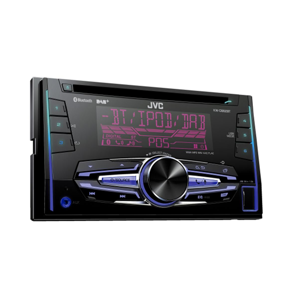 ipitrade jvc kwdb92bt double din head unit with dab bt. Black Bedroom Furniture Sets. Home Design Ideas